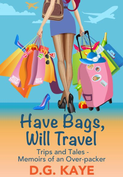 Book promotion, Free book, Have Bags Will Travel, memoir