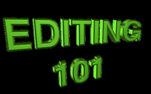 EDITING 101: 14 – Self-Editing Part 2…