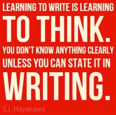Learning as You Write – Guest Post…