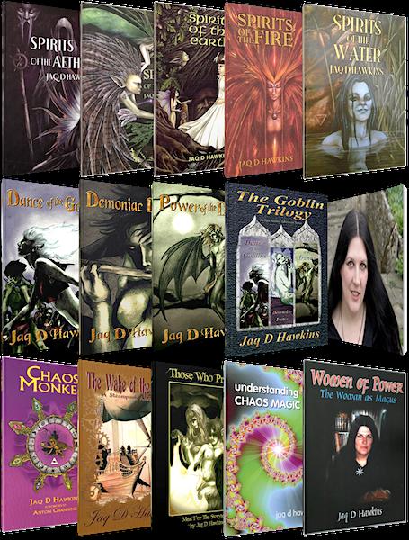 Jaq D Hawkins' Books
