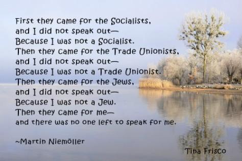 Martin Niemöller Quote