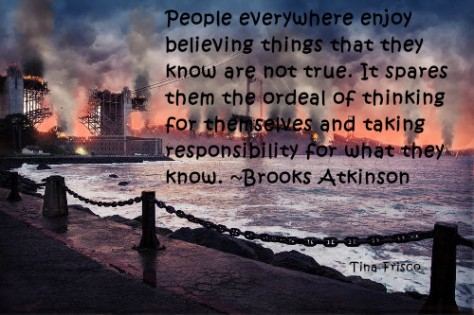 Brooks Atkinson Quote